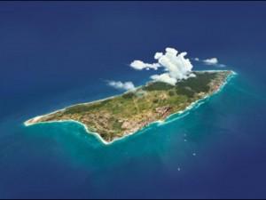 Aruba luchtfoto