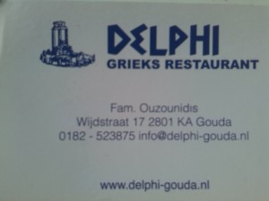 Delphi visitekaartje
