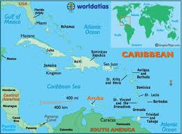 Ligging van de Antillen