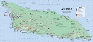 Plattegrond Aruba