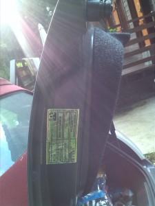 kofferbak Fiat500